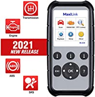 Autel MaxiLink ML629 Enhanced OBD2 Scanner, 2021 Newest Upgraded Ver. of AL619, ML619, ABS SRS Engine Transmission...