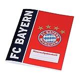 FC Bayern Hausaufgabenheft (rot/blau) -