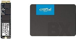 Transcend TS480GJDM820 JetDrive 820 SSD 480 GB per MacBook Air 11&quot & Crucial BX500 480 GB CT480BX500SSD1 fino a 540 MB...