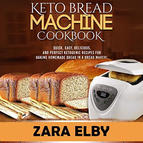 Keto Bread Machine Cookbook Titelbild