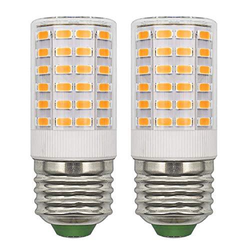 Bombilla LED E27 12 V CA/CC 24 V CC, de bajo voltaje, compacta, 5 W, blanco cálido, 3000 K, sustituye a 50 W 60 W E27 bombilla halógena (no alta tensión 230 V), bombillas E27 no regulables, 2 unidades