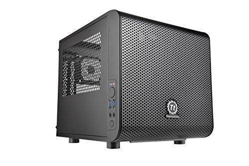 Thermaltake Core V1 Case PC Mini, Nero