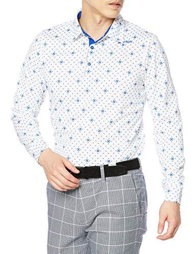 [スリクソン] 長袖シャツ RGMQJB01 メンズ WHBL(ホワイトブルー) 日本 M (日本サイズM相当)