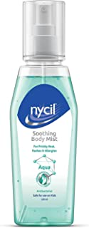 NYCIL Soothing Body Mist Aqua, Pack of 3, (3x100 ml)
