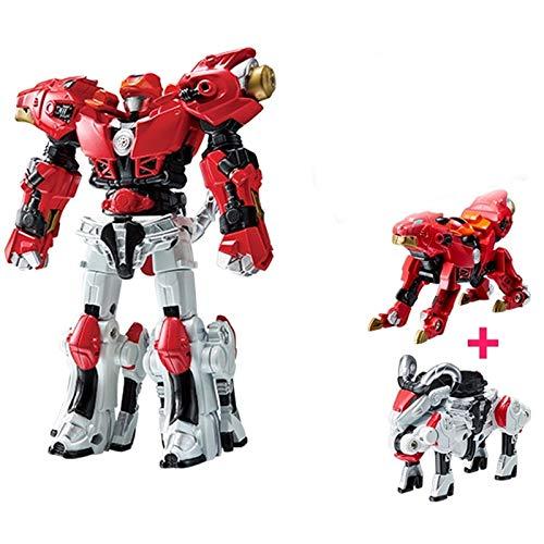 siyushop Transformar Automóvil Robot Acción Figura Figura Deformación Robot Juguete para Niños Deformación Automática Robot Binario Juego Completo De Chico MECHO Robot Modelo DE Robot ( Color : 1 )