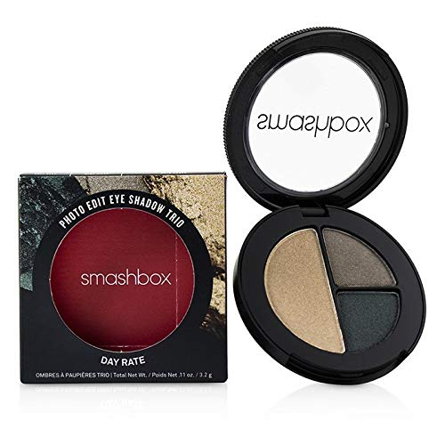 Smashbox Photo Edit Augen Ultra-Tragbare Lidschatten Trio - Day Rate - 0.11oz (3.2g)