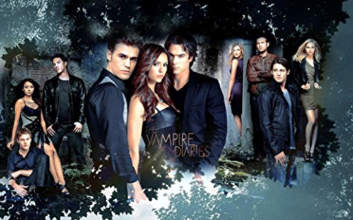 The Vampire Diaries poster 40 inch x 24 inch / 21 inch x 13 inch