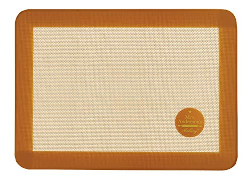 Mrs. Anderson's Baking Non-Stick Silicone Toaster Oven Baking Mat, 7.875-Inch x 10.87-Inch