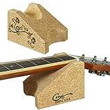 Hricane Cojín para el cuello de guitarra, herramienta de construcción de guitarra, soporte para el cuello de la guitarra, cojín de apoyo para el cambio de cuerdas, herramienta de cuidado limpio