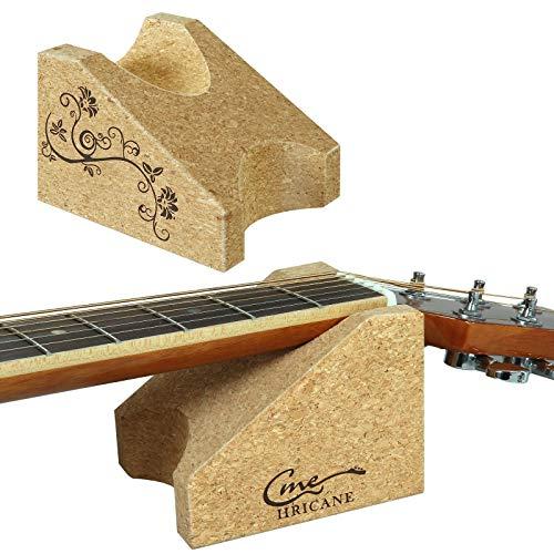 Hricane Gitarrenhalskissen, Gitarrenbauer-Werkzeug Gitarrenhalsauflage, Gitarrenhalshalterung Stützkissen für Saiteninstrument Saitenwechsel Reparatur Clean Care Tool