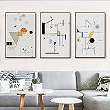 Moderne Abstrakte Geometrie Wassily Kandinsky Leinwand