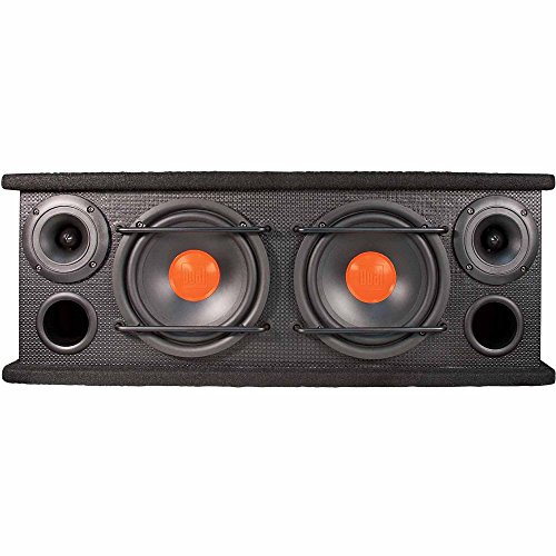 Dual Electronics SBX6502 2 Way Full Range Enclosed Speakers with 6.5 inch Subwoofers & 3 inch Horn Tweeters