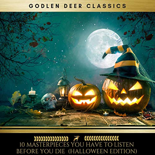 10 Masterpieces You Have to Listen Before You Die [Halloween Edition]                   By:                                                                                                                                 H. P. Lovecraft,                                                                                        Washington Irving,                                                                                        Robert Louis Stevenson,                   and others                          Narrated by:                                                                                                                                 Erica Collins,                                                                                        Brian Kelly,                                                                                        Josh Smith,                   and others                 Length: 47 hrs and 21 mins     Not rated yet     Overall 0.0