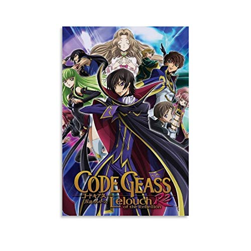 Code Geass Saison 2 Canvas Art Poster and Wall Art Picture Print Modern