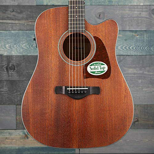 Ibanez AW54CEOPN Artwood Dreadnought Acoustic/Electric Guitar Review