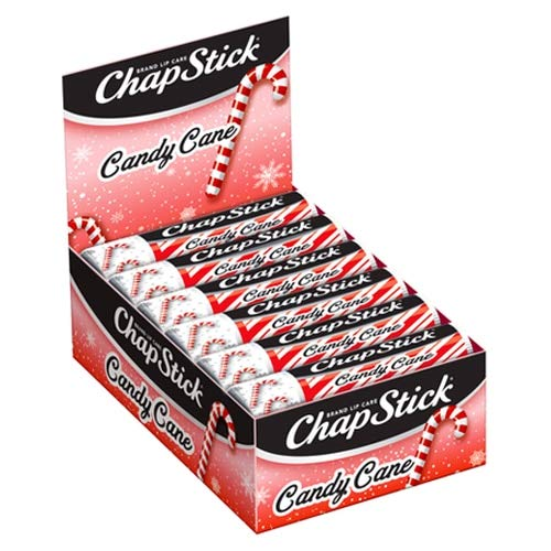 ChapStick Limited Edition Candy Cane 12Stick Refill Pack
