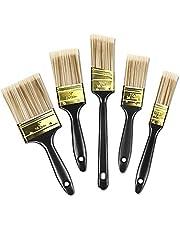 多用途刷毛 ペイント刷毛 はけ イズセット木柄 窓、ドア、壁、木製家具の塗装済み