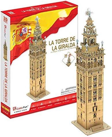 CubicFun Puzzle 3D La Torre de la Giralda (CPA Toy Group Trading ...