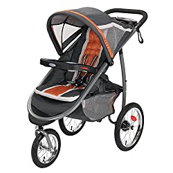 Graco click connect double jogging stroller