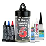 Vibra-TITE 27007 Work Pack Contains Threadlockers, Adhesives and Lubricants, (Pack of 6)