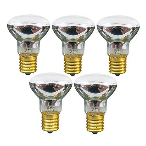 Lava Lamp Replacement Bulb -R39 Shape-25 Watt -E17 Base Lava Lamp Reflector Type Bulbs,5 Pack