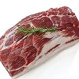 お肉屋さんの熟成豚肩ロースブロック約2.1kg domestic pork shoulder+-2.1kg