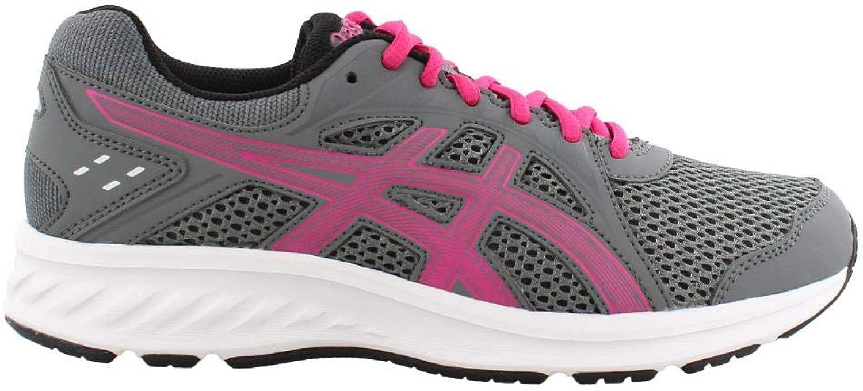 ASICS - Womens Jolt 2 (D) shoes, 8 C D US, Steel Grey Pink Rave