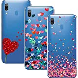 Young & Ming Compatible para Samsung Galaxy A30 / A20 Funda, (3 Pack) Transparente Ultrafina Carcasa...