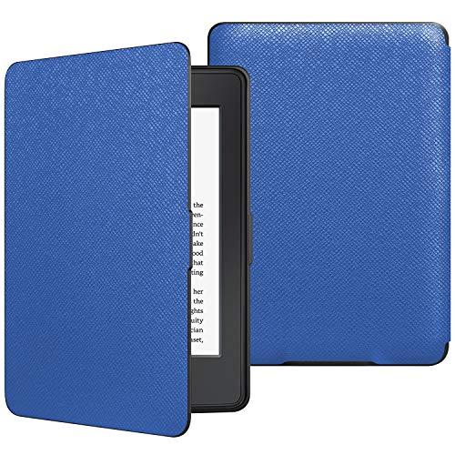JETech Funda Amazon Kindle Paperwhite, Se Adapta a Todas Las Generaciones de Paperwhite Anteriores a 2018 (No es Compatible 10ª Generación), Azul