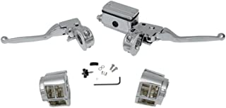 Chrome Handlebar Controls with Switch Housings for 1990-1995 Harley-Davidson Dyna Softail and Sportster models with Single Front Disc brakes - HC-HBC126