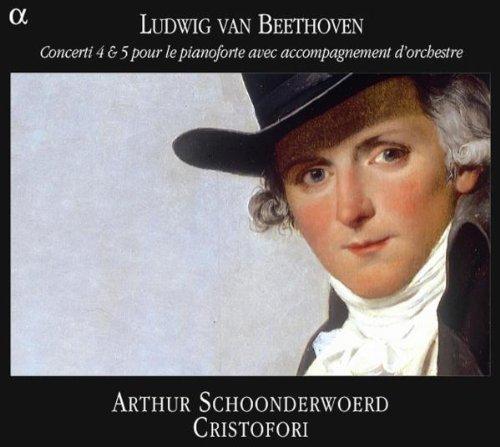 Beethoven: Piano Concertos Nos 4 & 5 /Schoonderwoerd ??Ensemble Cristofori by Ludwig Van Beethoven (2005-11-08)
