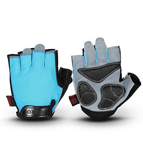 Handschoenen mini heren handschoenen gym handschoenen met anti-slip bescherming 3 stuks silicagel grip & verstelbare riem voor mountainbikes racehandschoenen fiets handschoenen gewichtheffen