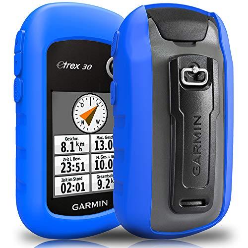 TUSITA Funda para Garmin eTrex 10 20 20X 22X 30 30X 32X - Funda Protectora de Silicona Skin - Accesorios de Mano GPS Navigator