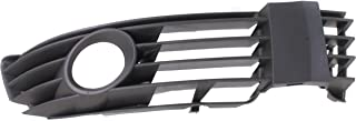 DAT AUTO PARTS Fog Light Grille Replacement for 01-05 Volkswagen Passat Front Bumper Insert Right Passenger Side VW1039105