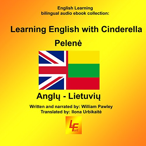 Learning English with Cinderella (English/Lithuanian) cover art