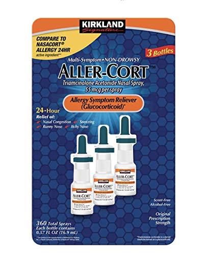 Price comparison product image Kirkland Signature Aller-Cort,  3 Bottles