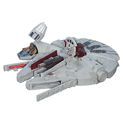 Hasbro Star Wars B3678EU5 - E7 Battle-Action Millennium Falke