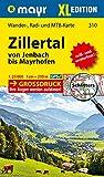 Zillertal XL - Von Jenbach bis Mayrhofen: Wander-, Rad- und Mountainbikekarte. GPS-genau. 1:25000 (Mayr Wanderkarten)
