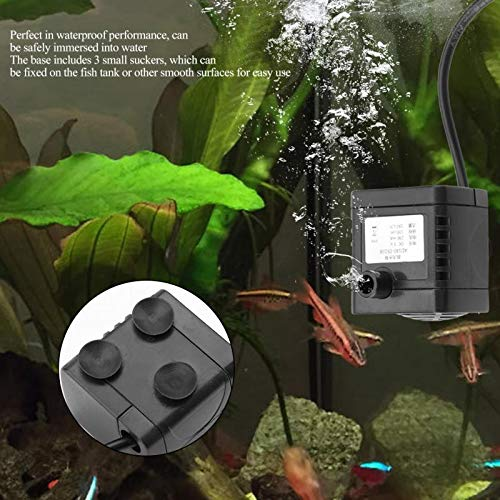 Waterpompen, usb Dc 5V, kleine borstelloze pomp, aquarium, vistank, fountain, watercirculatie, immersible pomp, pomp, kleine zink, push, draagbare well pennen, waterboek, fountains Electric submer