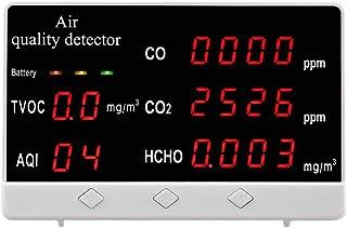 屋内屋外の空気品質モニターCO/HCHO / TVOCテスターCO2メーターガス分析計