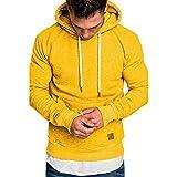 Dasongff - Sudadera de manga larga con capucha para hombre, para el otoño