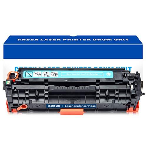 Toner Cartridge, voor HP304a Toner Cartridge, Toepasbare CC530A CM2320n 2320nf CP2025 2025dn Toner Cartridge 4 Kleuren Laser Printer Office Supplies Vakantie aanbiedingen tellen neer size Blauw