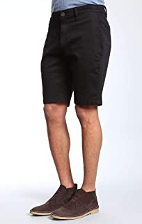 34 Heritage Mens Nevada Shorts in Black Twill