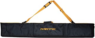 """POWERTEC 71411 60"""" Premium Guide Rail Bag W/Dual-Sided Padding For Secure Rail Placement"""