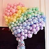 Erosion 5 Zoll Mini Pastell Latexballons 200 Stück Verschiedene Macaron