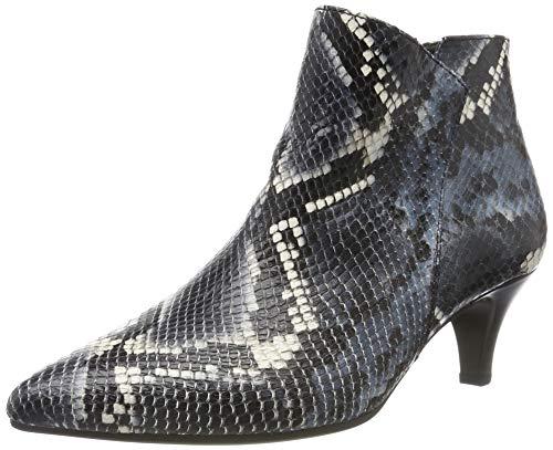 Gabor Shoes Gabor Basic, Botines Mujer, Azul (Blue 36), 38 EU