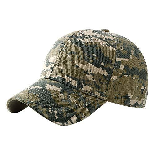 Fablcrew 1Pcs Casquette de Camouflage de Style Militaire Casquette de Baseball Chasse Pêche Activités de Plein Air pour Hommes Femme Sport et l'extérieur