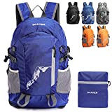 <span class='highlight'><span class='highlight'>SPAHER</span></span> Ultralight Packaway Hiking Backpack Trekking Rucksack For Men and Women Foldaway Daypack Shoulder Bag Waterproof Outdoor Unisex Cycling Holdall Flight Bag School Bag Camping Travelling Bag 25L