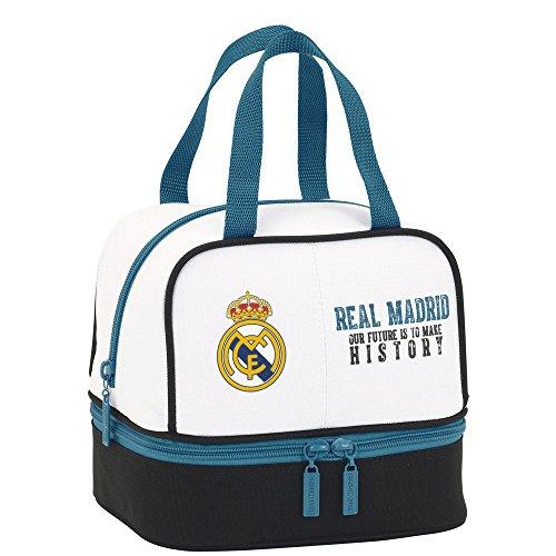 Real Madrid 2018 Trousse de Toilette, 20 cm, Multicolore (Multicolor)