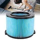 Neufday Filtro de Repuesto Mojado Seco Lavable Reutilizable Reemplace el Accesorio de aspiradora/Filtro de reemplazo para Ridgid VF3500 3-4.5 Galones